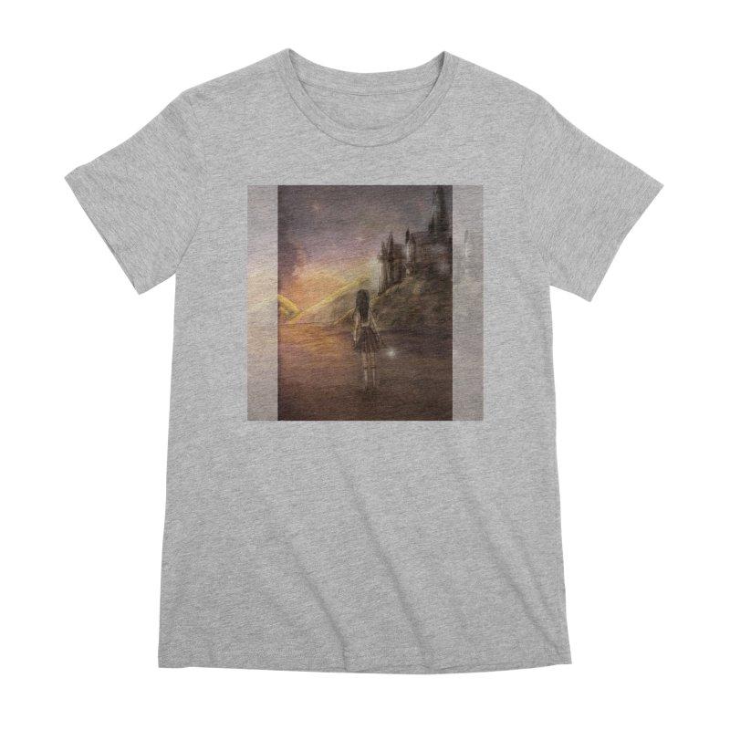 Hogwarts Is Our Home Women's Premium T-Shirt by deannakei's Artist Shop