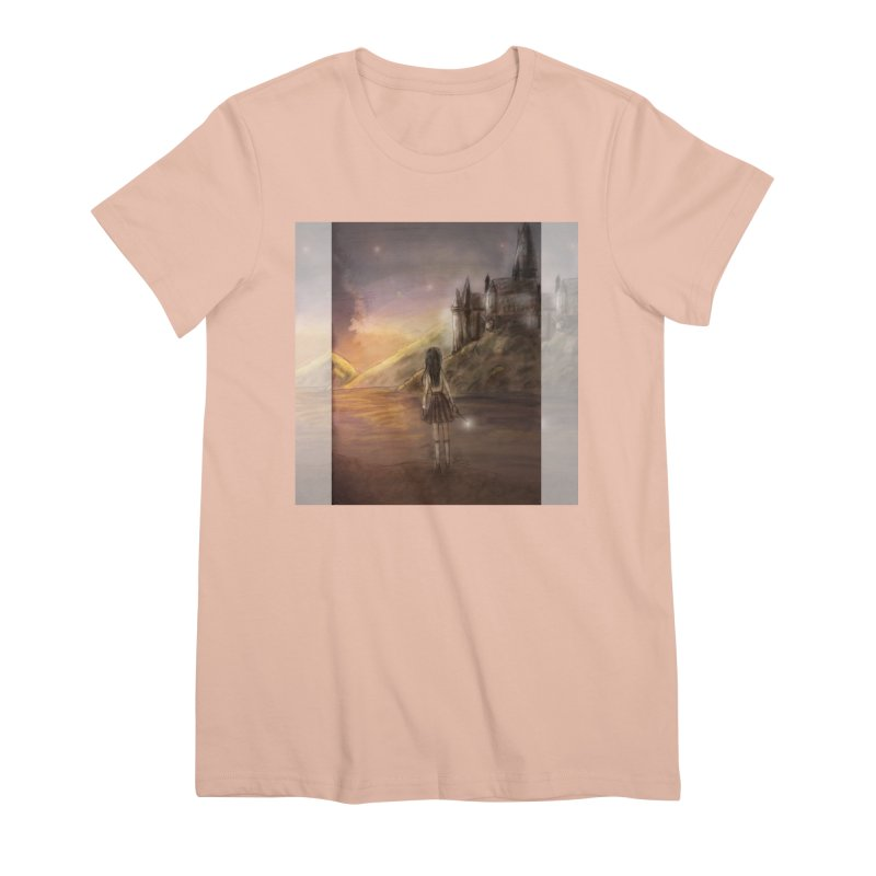 Hogwarts Is Our Home Women's Premium T-Shirt by Deanna Kei's Artist Shop