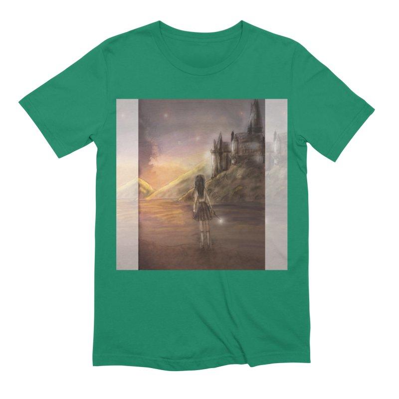 Hogwarts Is Our Home Men's Extra Soft T-Shirt by deannakei's Artist Shop