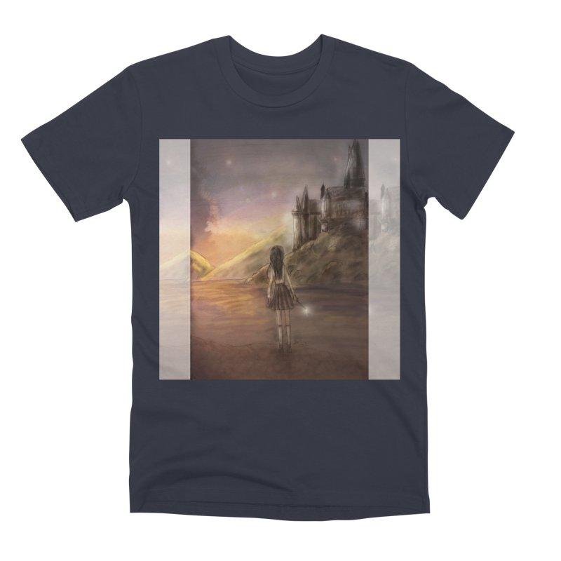 Hogwarts Is Our Home Men's Premium T-Shirt by deannakei's Artist Shop