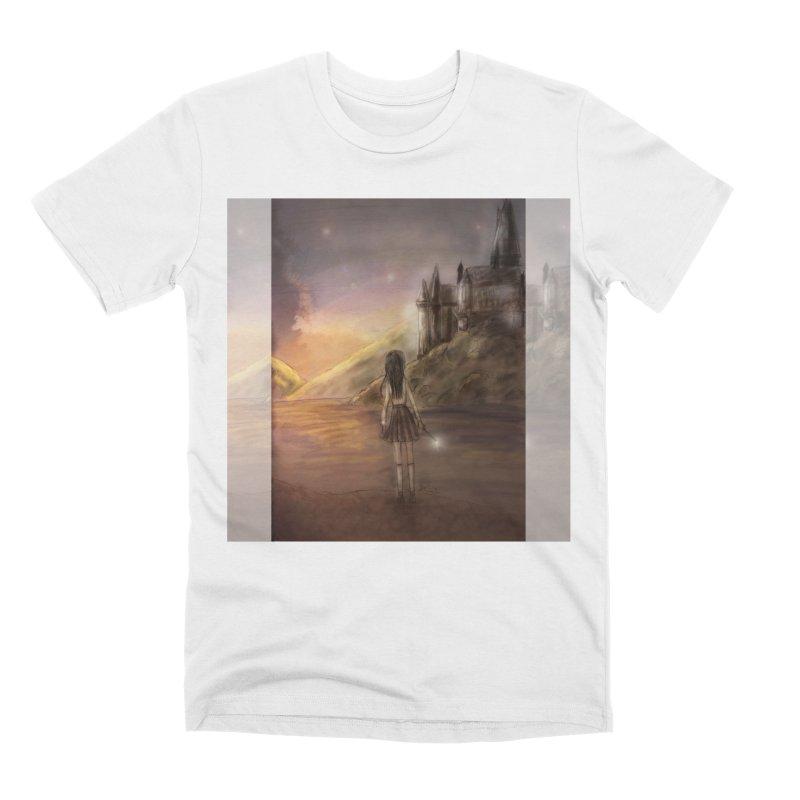 Hogwarts Is Our Home Men's Premium T-Shirt by Deanna Kei's Artist Shop