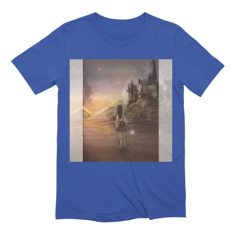 Hogwarts Is Our Home Men's Extra Soft T-Shirt by Deanna Kei's Artist Shop