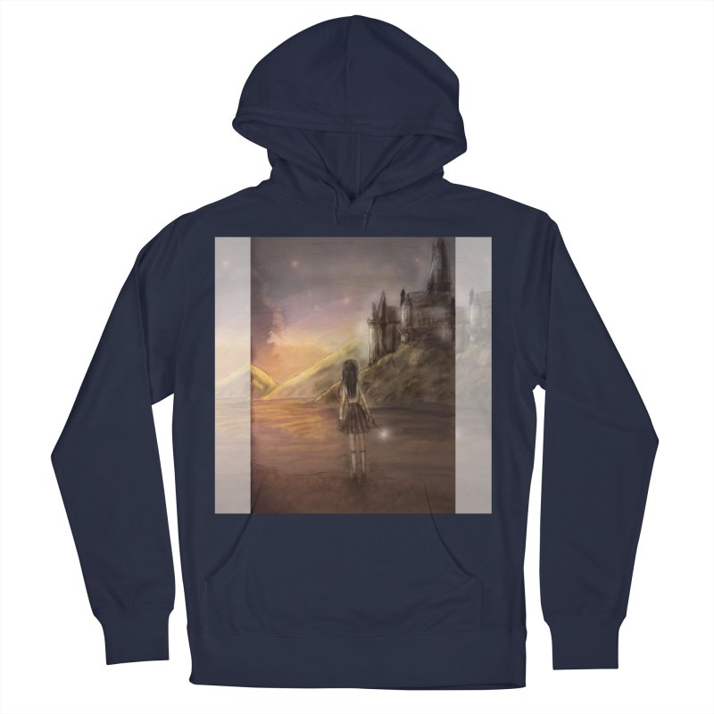 Hogwarts Is Our Home Women's French Terry Pullover Hoody by Deanna Kei's Artist Shop