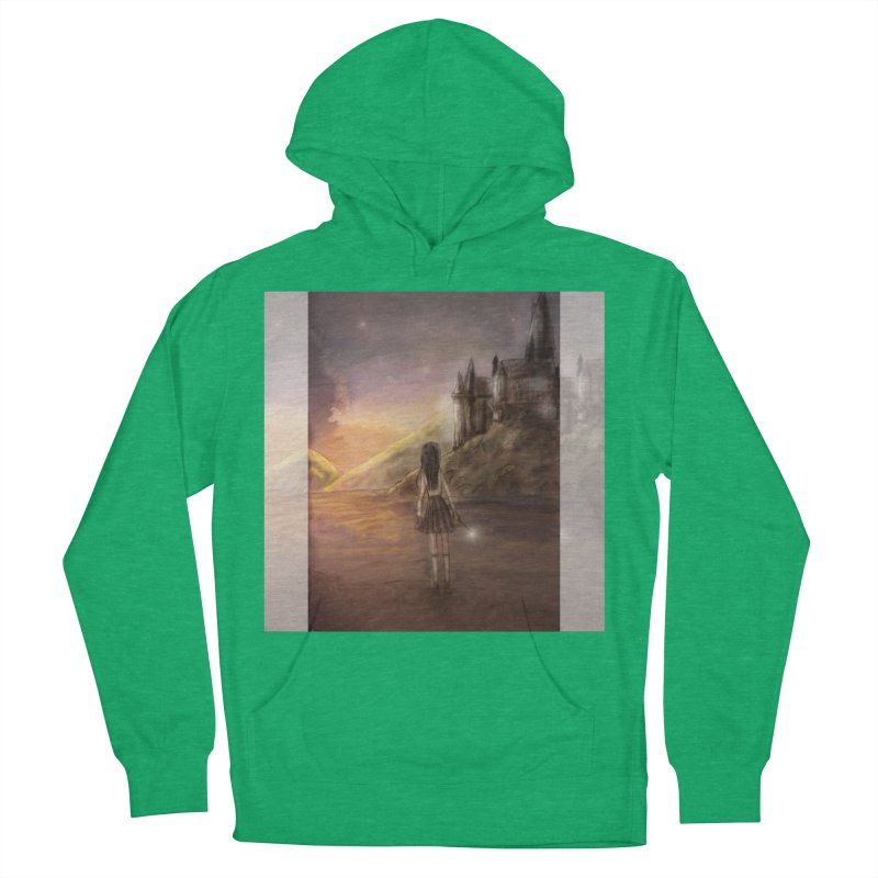 Hogwarts Is Our Home Men's French Terry Pullover Hoody by Deanna Kei's Artist Shop
