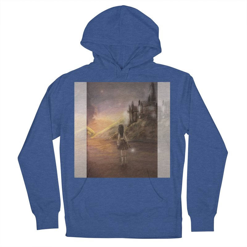 Hogwarts Is Our Home Men's French Terry Pullover Hoody by deannakei's Artist Shop