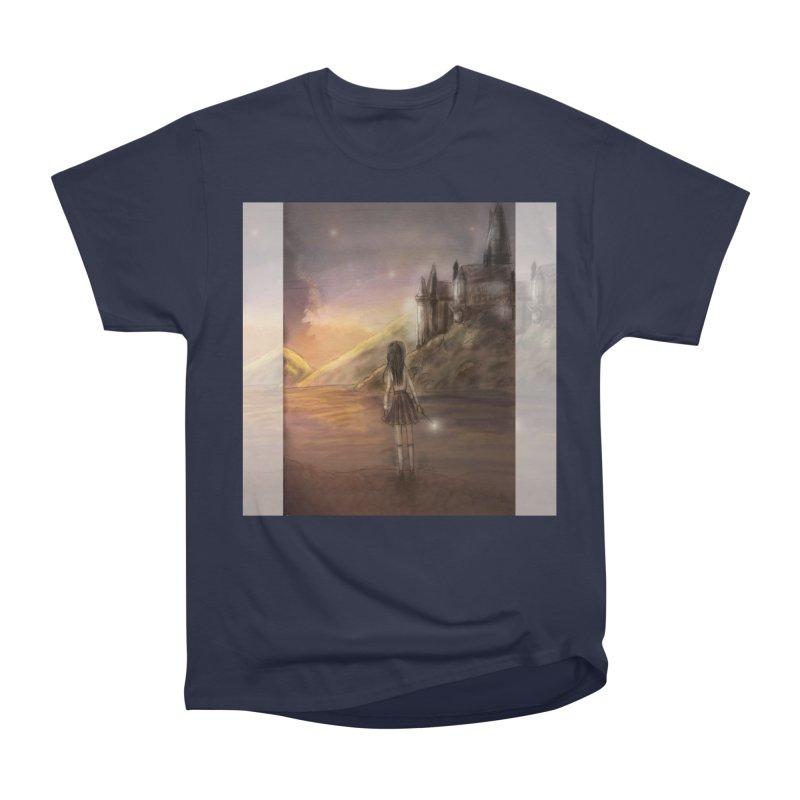 Hogwarts Is Our Home Men's Heavyweight T-Shirt by Deanna Kei's Artist Shop