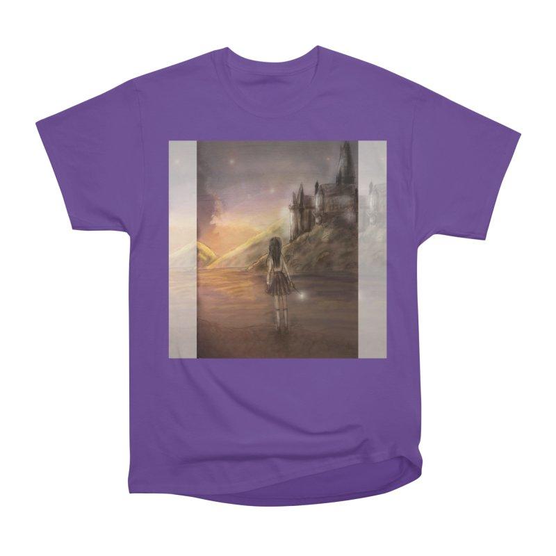 Hogwarts Is Our Home Women's Heavyweight Unisex T-Shirt by Deanna Kei's Artist Shop