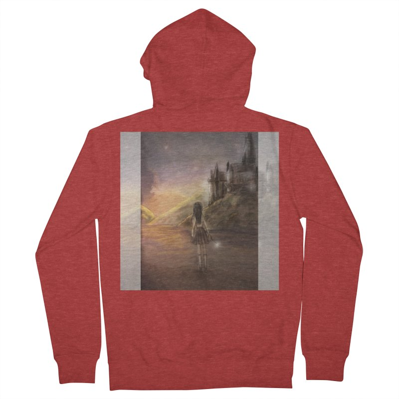 Hogwarts Is Our Home Women's French Terry Zip-Up Hoody by Deanna Kei's Artist Shop