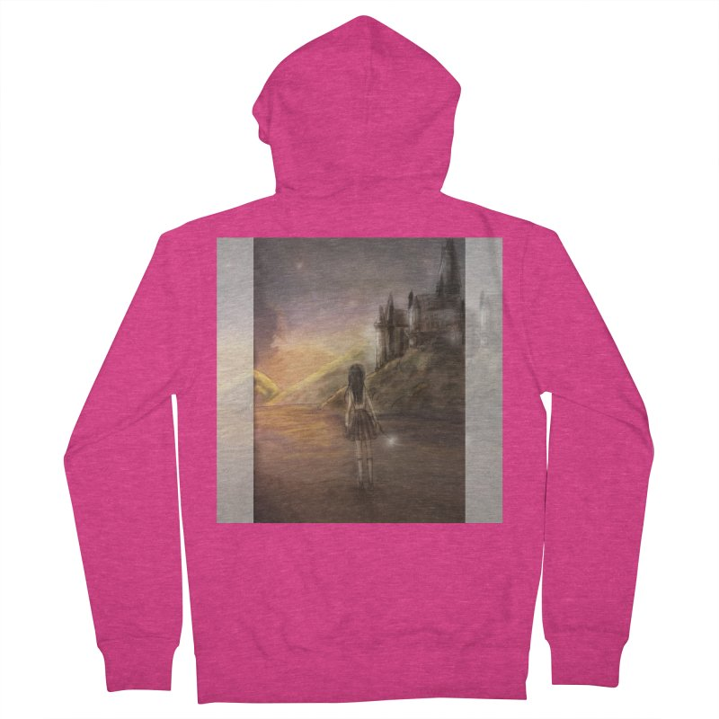 Hogwarts Is Our Home Women's French Terry Zip-Up Hoody by deannakei's Artist Shop