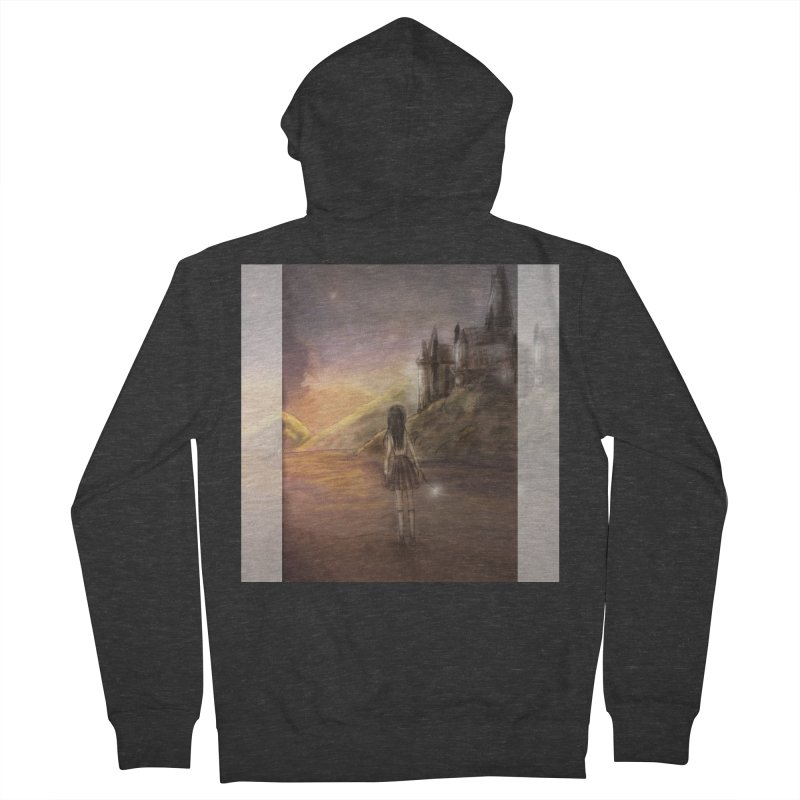 Hogwarts Is Our Home Men's French Terry Zip-Up Hoody by Deanna Kei's Artist Shop