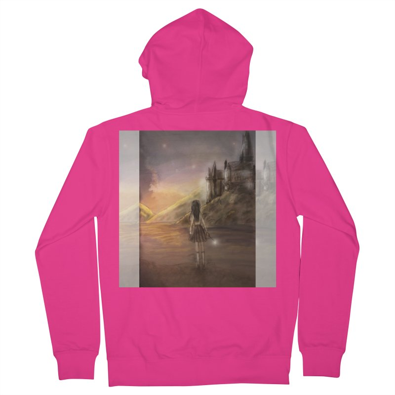 Hogwarts Is Our Home Men's French Terry Zip-Up Hoody by deannakei's Artist Shop