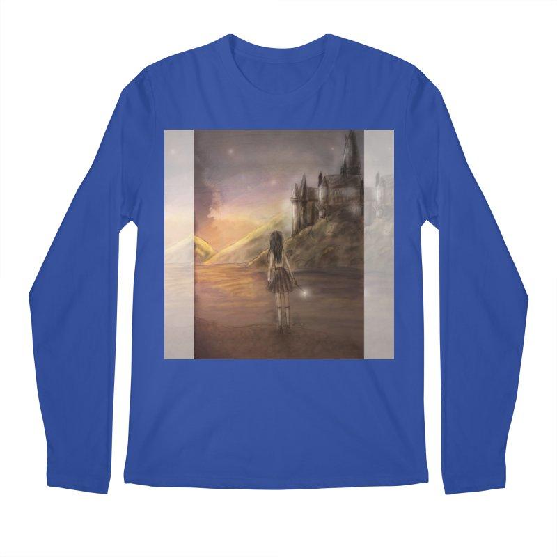 Hogwarts Is Our Home Men's Regular Longsleeve T-Shirt by Deanna Kei's Artist Shop