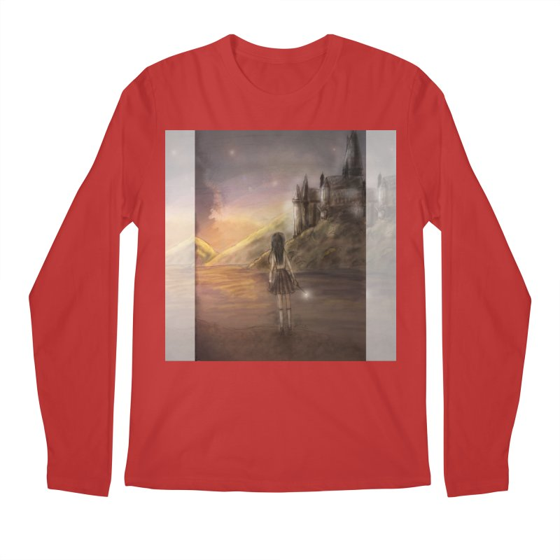 Hogwarts Is Our Home Men's Regular Longsleeve T-Shirt by Deanna Kei's Artist Shop