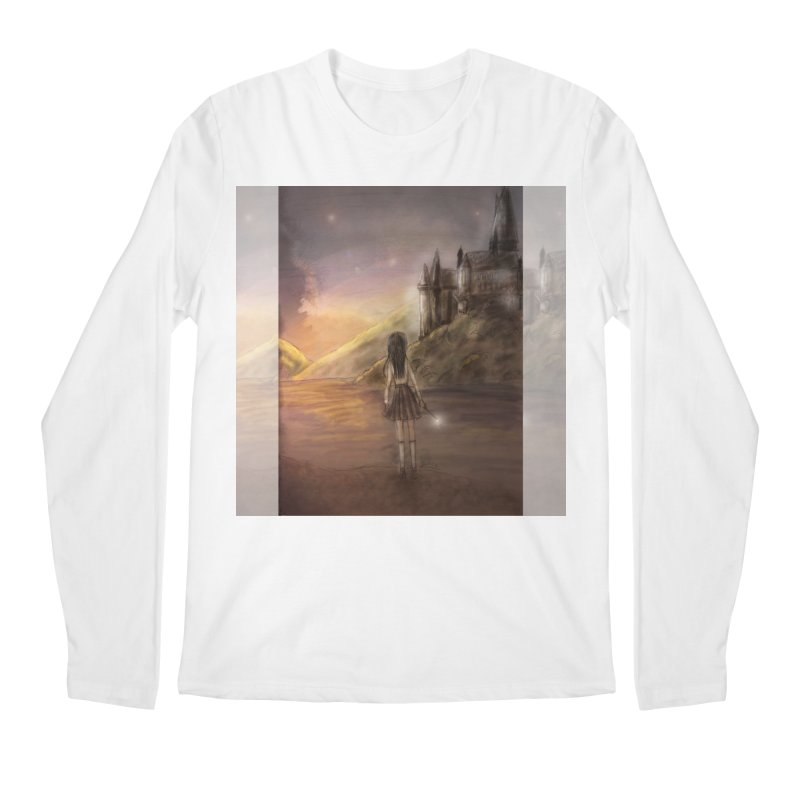 Hogwarts Is Our Home Men's Regular Longsleeve T-Shirt by deannakei's Artist Shop