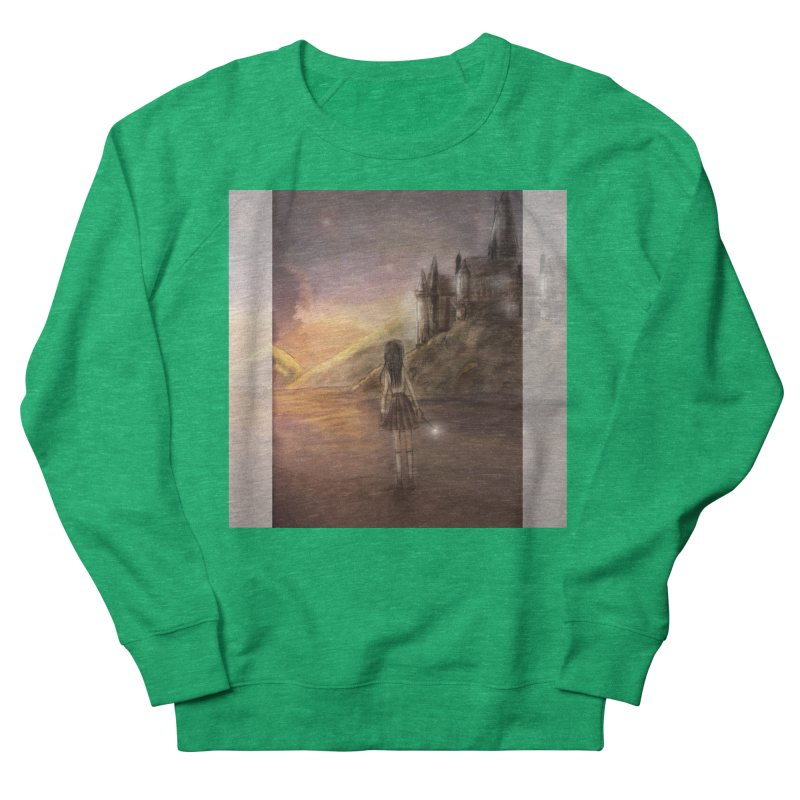 Hogwarts Is Our Home Men's French Terry Sweatshirt by Deanna Kei's Artist Shop