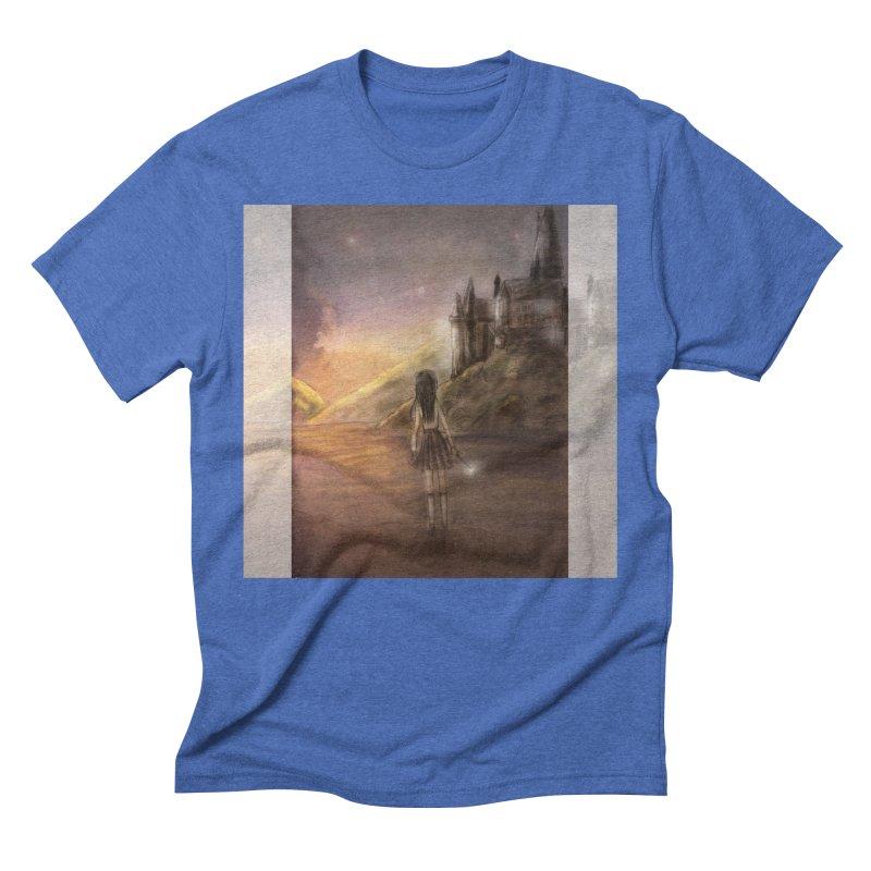 Hogwarts Is Our Home Men's Triblend T-Shirt by Deanna Kei's Artist Shop