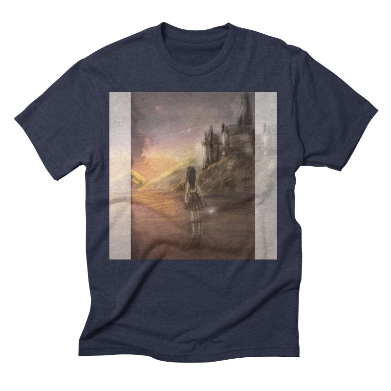 Hogwarts Is Our Home Men's Triblend T-Shirt by deannakei's Artist Shop