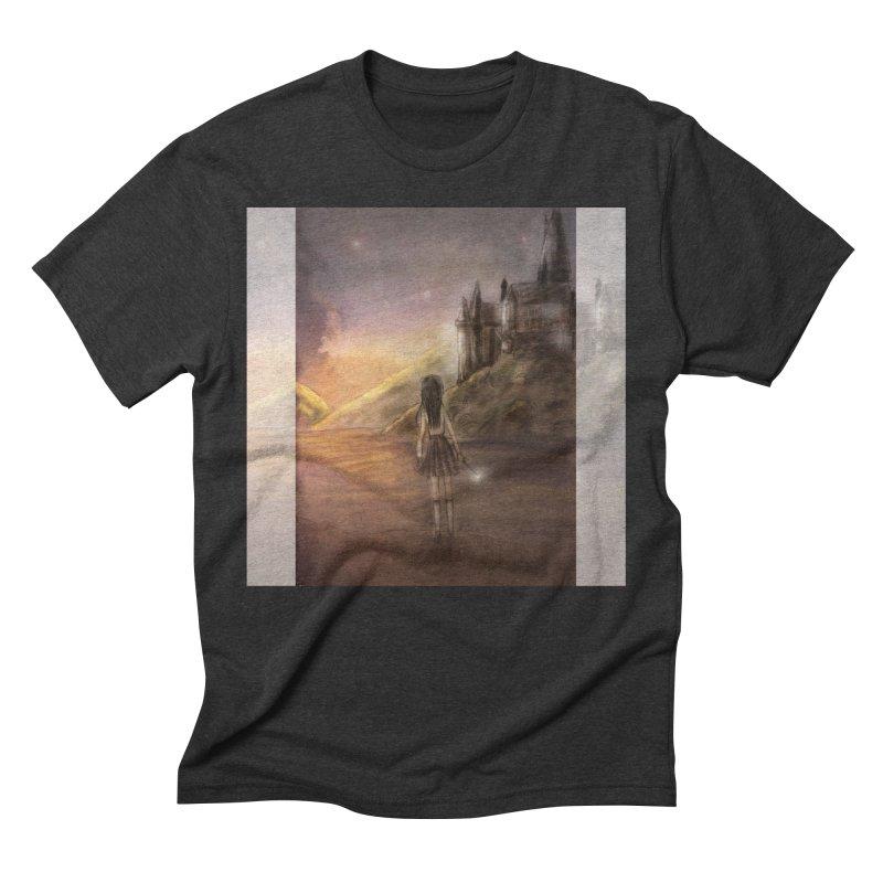 Hogwarts Is Our Home Men's Triblend T-Shirt by deannakei's Artist Shop