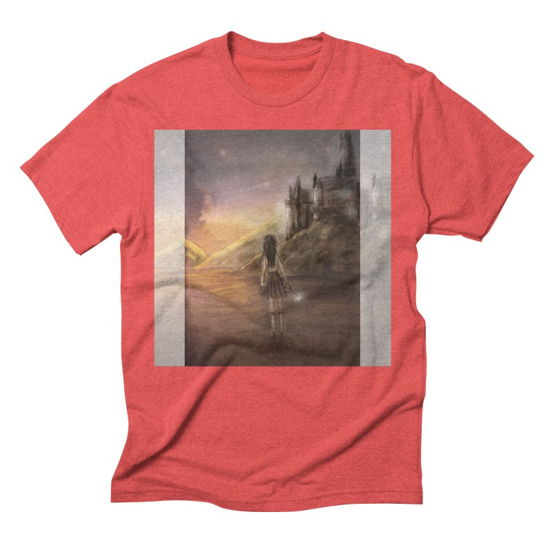 Hogwarts Is Our Home Men's Triblend T-Shirt by Deanna Kei's Artist Shop