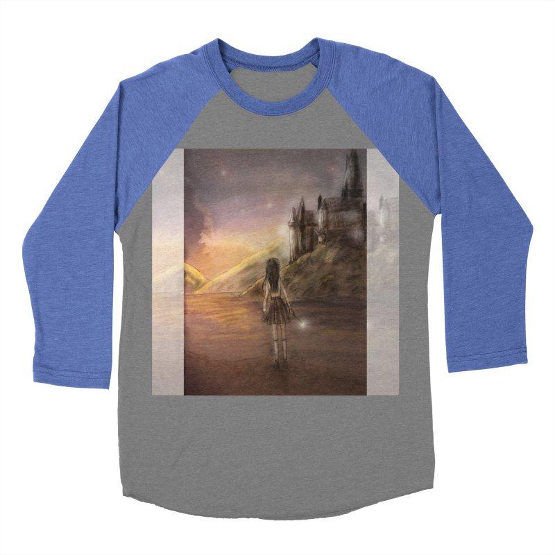 Hogwarts Is Our Home Women's Baseball Triblend Longsleeve T-Shirt by Deanna Kei's Artist Shop