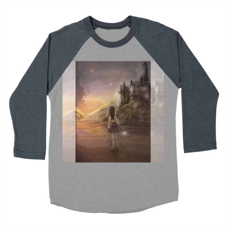 Hogwarts Is Our Home Men's Baseball Triblend Longsleeve T-Shirt by deannakei's Artist Shop