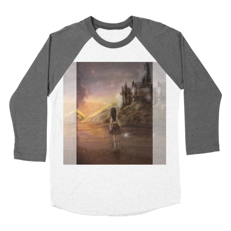 Hogwarts Is Our Home Men's Baseball Triblend Longsleeve T-Shirt by Deanna Kei's Artist Shop