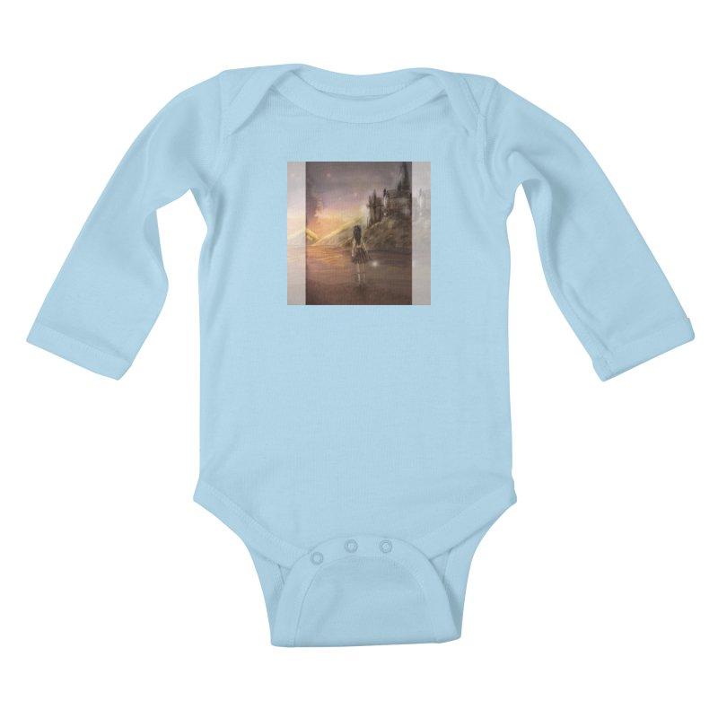Hogwarts Is Our Home Kids Baby Longsleeve Bodysuit by deannakei's Artist Shop