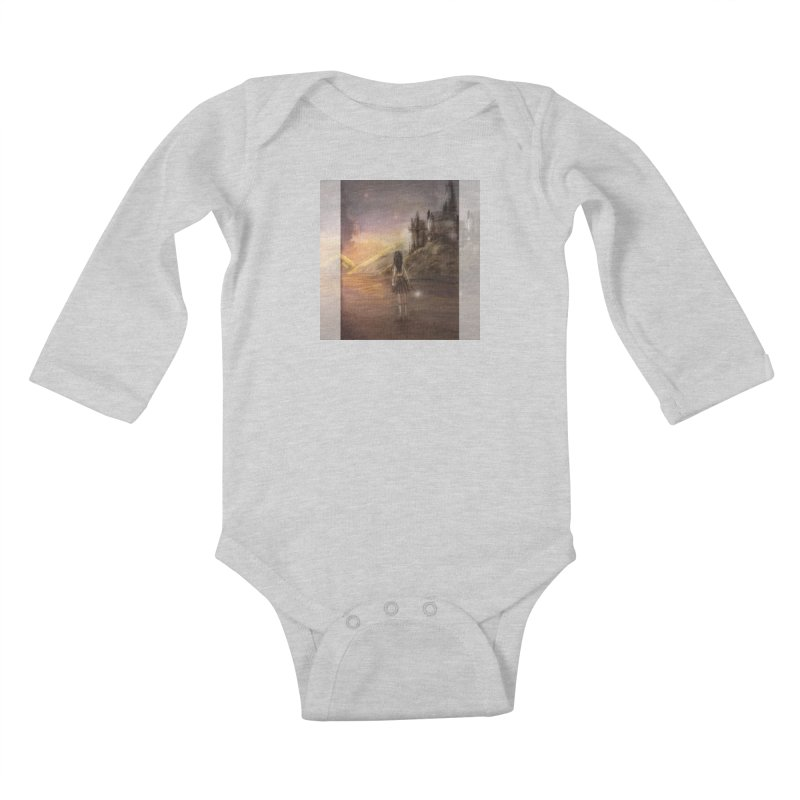 Hogwarts Is Our Home Kids Baby Longsleeve Bodysuit by deannakei's Artist Shop