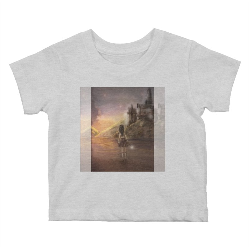 Hogwarts Is Our Home Kids Baby T-Shirt by Deanna Kei's Artist Shop