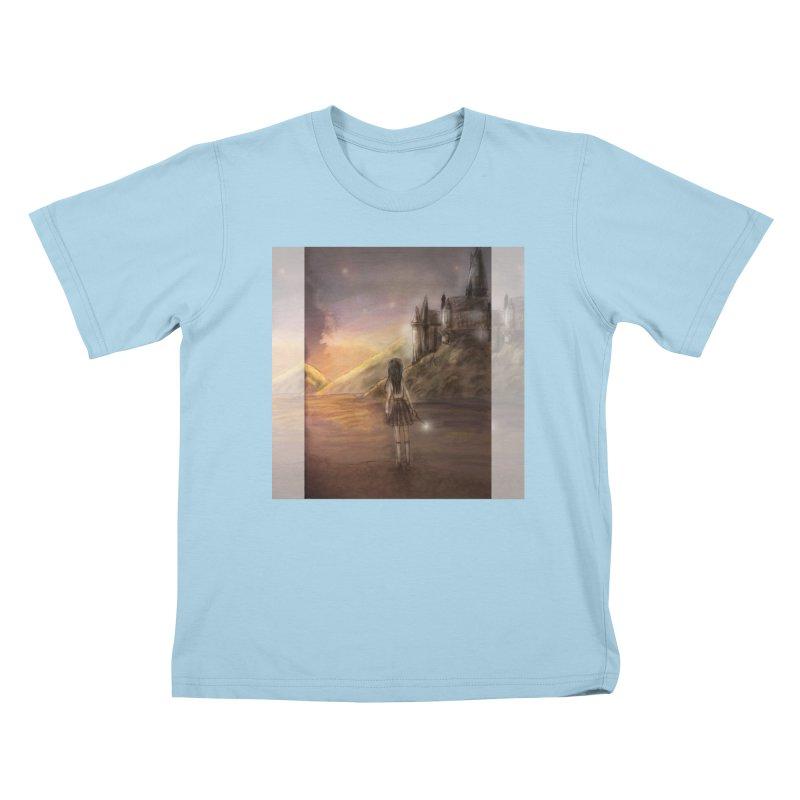Hogwarts Is Our Home Kids T-Shirt by Deanna Kei's Artist Shop