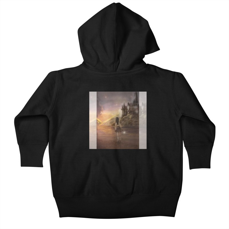 Hogwarts Is Our Home Kids Baby Zip-Up Hoody by Deanna Kei's Artist Shop