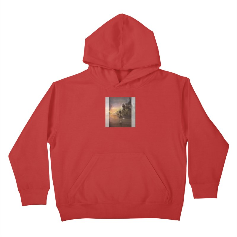 Hogwarts Is Our Home Kids Pullover Hoody by Deanna Kei's Artist Shop