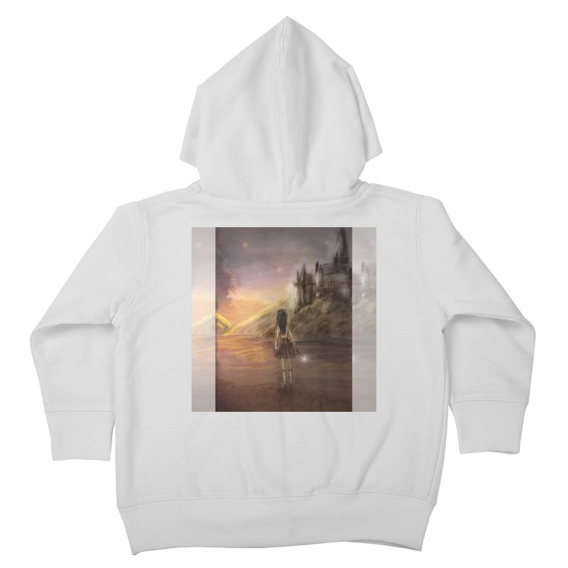 Hogwarts Is Our Home Kids Toddler Zip-Up Hoody by Deanna Kei's Artist Shop