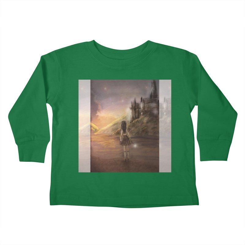 Hogwarts Is Our Home Kids Toddler Longsleeve T-Shirt by Deanna Kei's Artist Shop