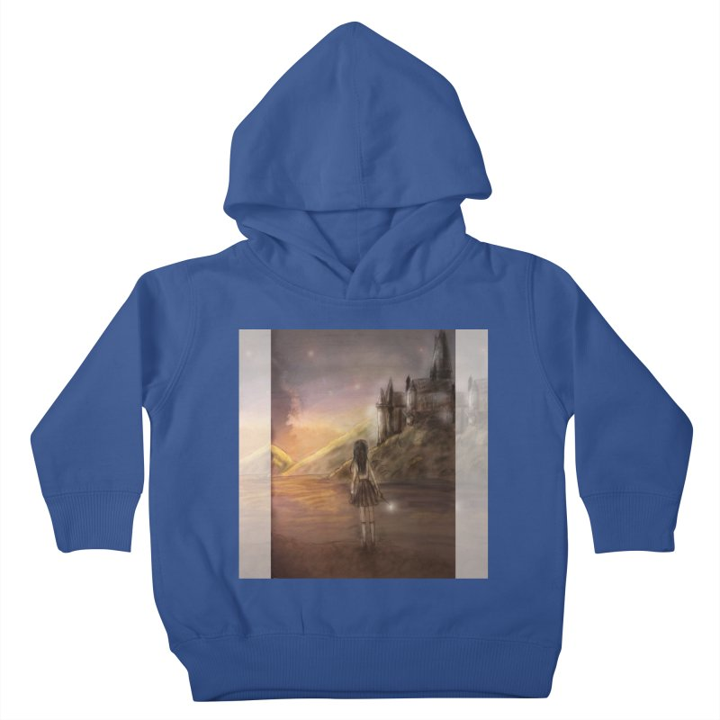 Hogwarts Is Our Home Kids Toddler Pullover Hoody by Deanna Kei's Artist Shop