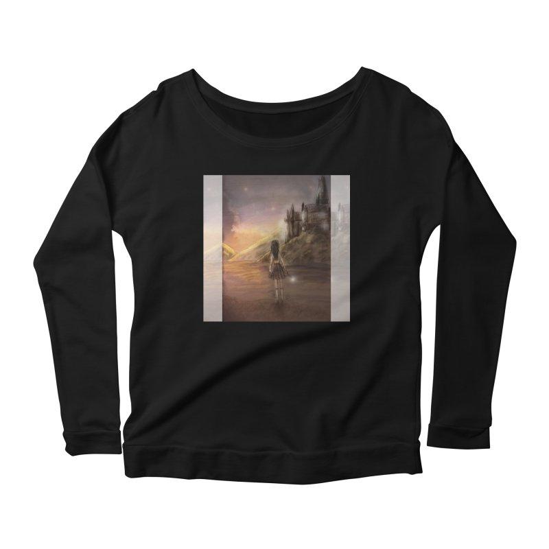 Hogwarts Is Our Home Women's Scoop Neck Longsleeve T-Shirt by deannakei's Artist Shop