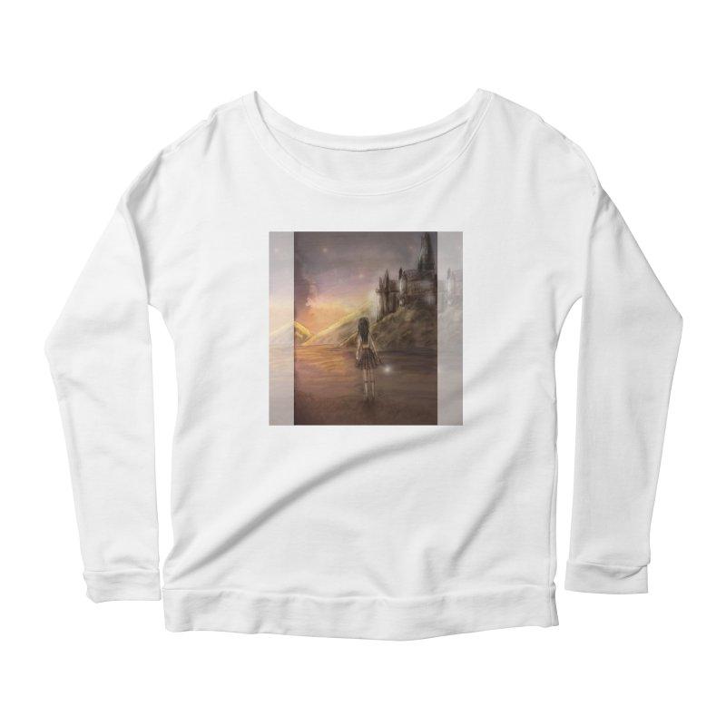 Hogwarts Is Our Home Women's Scoop Neck Longsleeve T-Shirt by Deanna Kei's Artist Shop