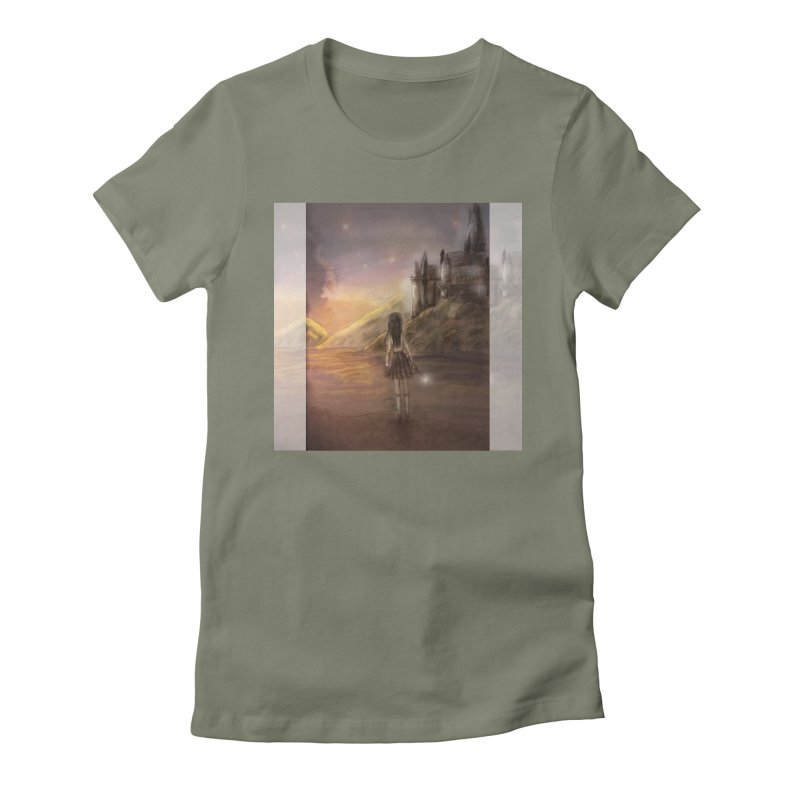 Hogwarts Is Our Home Women's Fitted T-Shirt by deannakei's Artist Shop