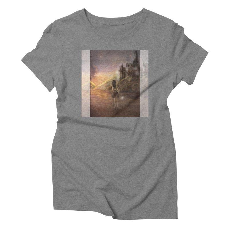 Hogwarts Is Our Home Women's Triblend T-Shirt by deannakei's Artist Shop