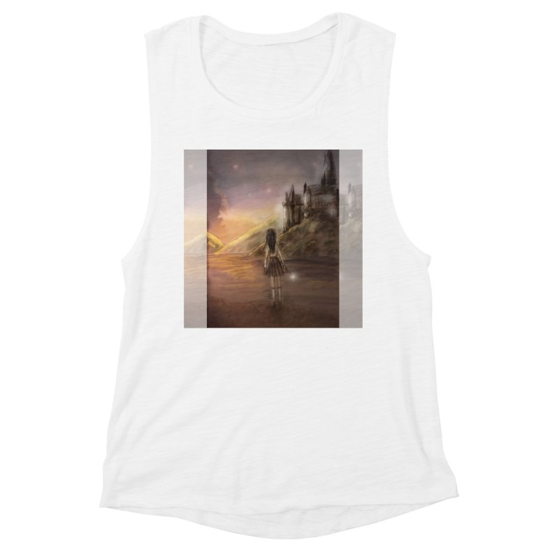 Hogwarts Is Our Home Women's Muscle Tank by Deanna Kei's Artist Shop