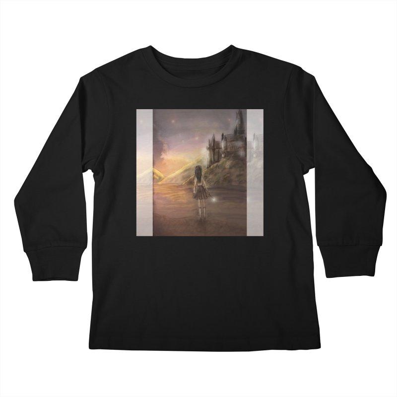 Hogwarts Is Our Home Kids Longsleeve T-Shirt by Deanna Kei's Artist Shop