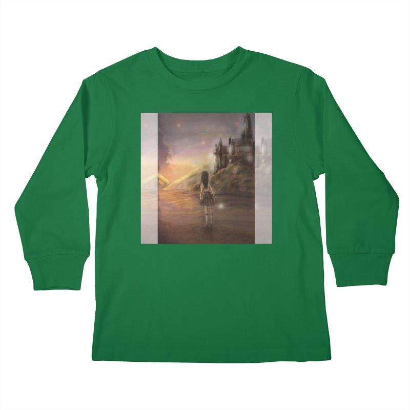 Hogwarts Is Our Home Kids Longsleeve T-Shirt by deannakei's Artist Shop