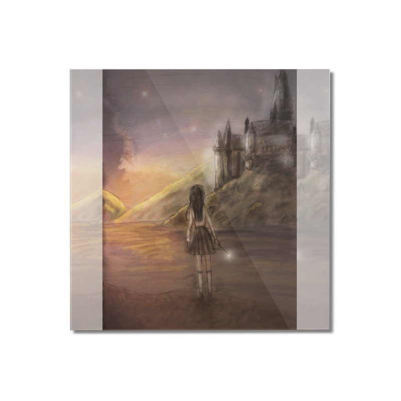 Hogwarts Is Our Home Home Mounted Acrylic Print by Deanna Kei's Artist Shop