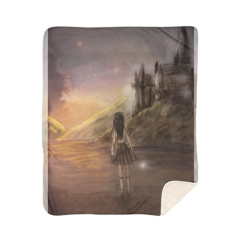 Hogwarts Is Our Home Home Blanket by Deanna Kei's Artist Shop