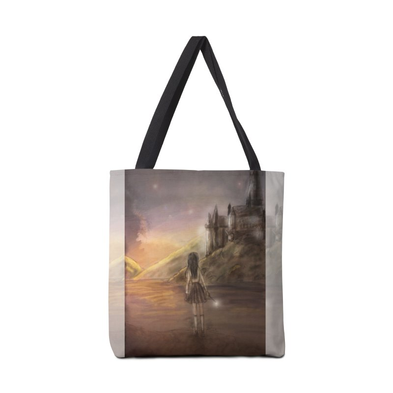 Hogwarts Is Our Home in Tote Bag by Deanna Kei's Artist Shop