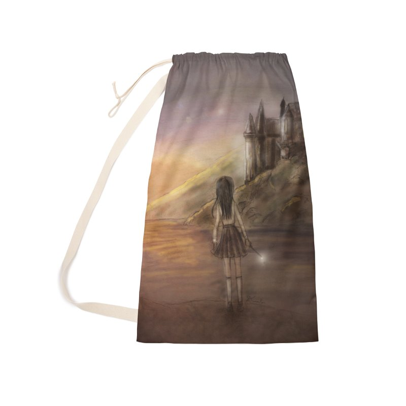 Hogwarts Is Our Home Accessories Laundry Bag Bag by Deanna Kei's Artist Shop