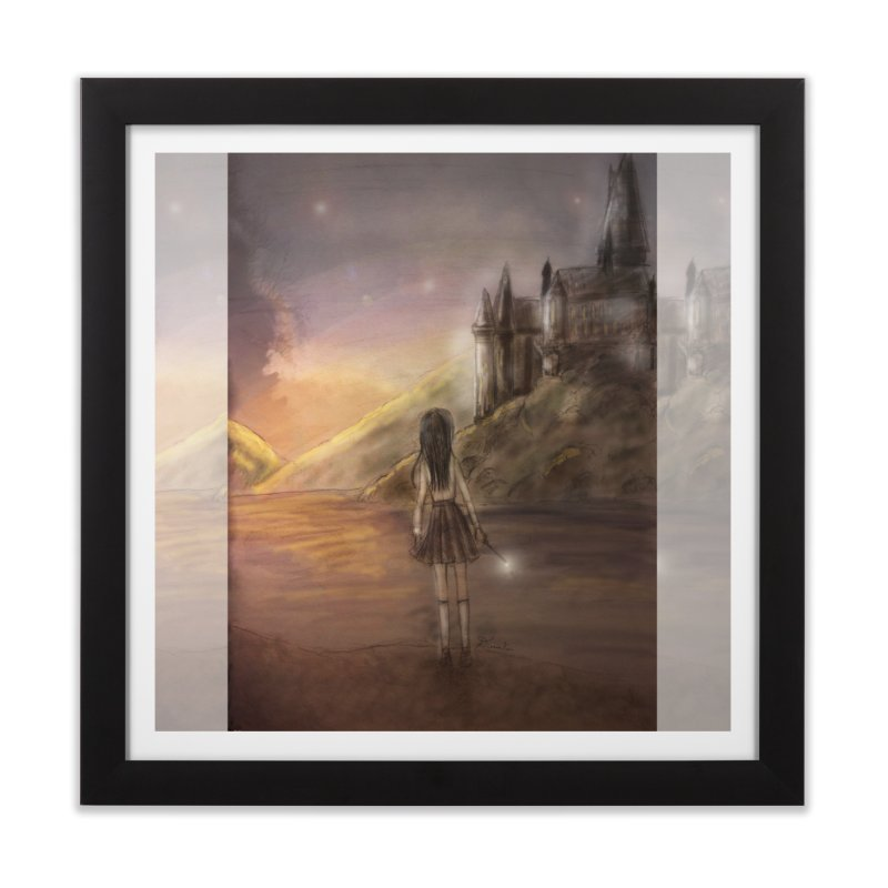 Hogwarts Is Our Home Home Framed Fine Art Print by Deanna Kei's Artist Shop
