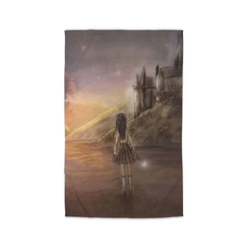Hogwarts Is Our Home Home Rug by Deanna Kei's Artist Shop