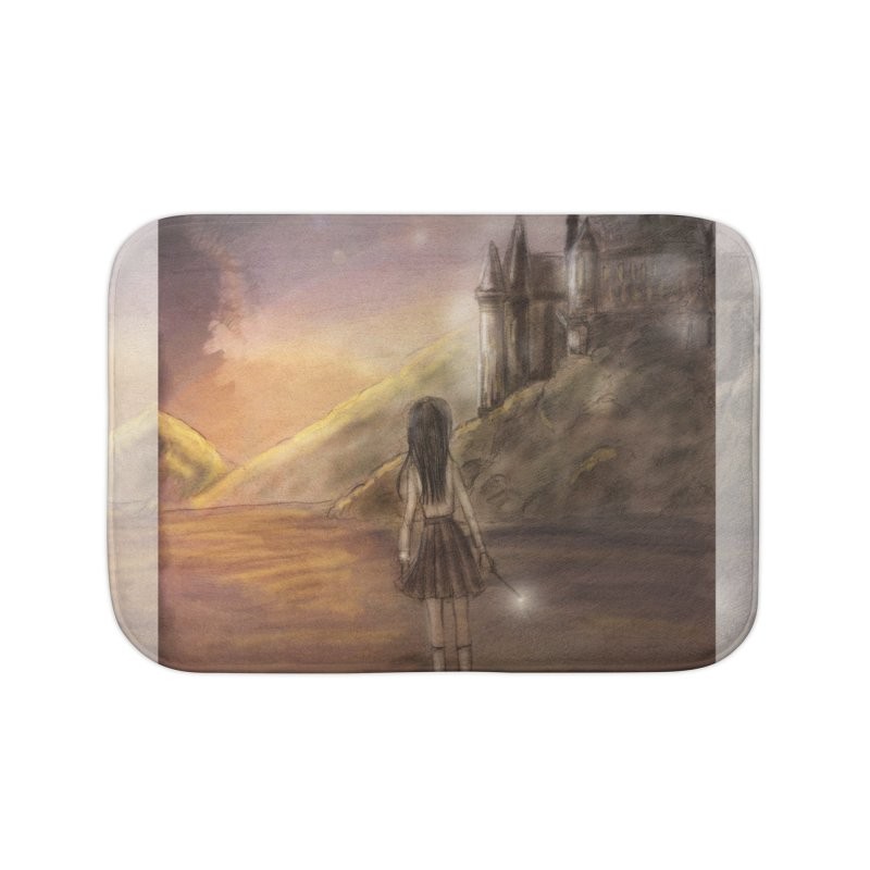 Hogwarts Is Our Home Home Bath Mat by Deanna Kei's Artist Shop