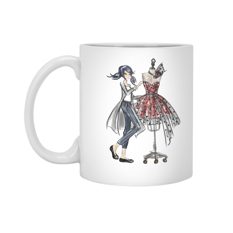 Ladybug Fashion Accessories Standard Mug by Deanna Kei's Artist Shop